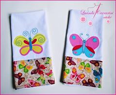 (LUANDA CARRARINI ATELIÊ) Tags: borboletas panosdeprato panosdecopa panosdepratoborboletas