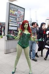 Poison Ivy (NekoJoe) Tags: uk england london geotagged cosplay unitedkingdom batman cosplayer dccomics poisonivy mcm gbr londonexpo ldn excelcentre mcmlondonexpo londoncomiccon geo:lat=5150812143 mcmlondoncomiccon may2015 mcmldn15 mcmlondoncomicconmay2015 mcmlondonexpomay2015 geo:lon=002566873