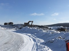 IMG_0986_v001_c3mzck (SWY Diamonds) Tags: 2015 canada quebec otishmountains jamesbay renard construction stornoway outdoor snow trucks