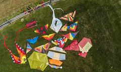Kite Aerial Photography Kites (Wind Watcher) Tags: blue 6 kite chester pa springs kap rokkaku windwatcher wwkw wwkw2015