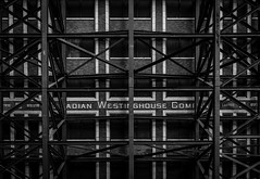 Through The Steel (itsonlykotsy) Tags: city urban toronto ontario canada building contrast downtown cityscape citylife northamerica tdot