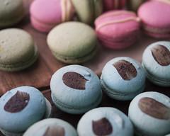 Blue Macarons (LookatLao) Tags: babar macarons macaron lookatlao