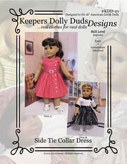 Soon to be released!! KDD21 (Keepersdollyduds) Tags: belt pattern dress buttons frock collar buckle keepers americangirldoll kdd21 keepersdollyduds