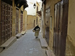 On the street (Re Silveira) Tags: morocco fez souk souks marruecos fes marrocos fs