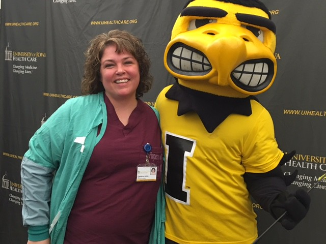 Hospital Week with Herky