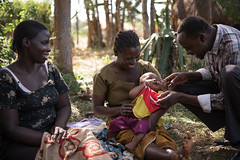Kenya February 2016 (mcspglobal) Tags: woman baby community kenya mother newborn breastfeeding
