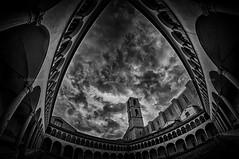"San Domenico (Carlo ""Granchius"" Bonini) Tags: sky clouds blackwhite nikon carlobonini samyang8mm sandomenicoperugia"
