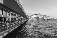 Galata Bridge (DelightTurkish) Tags: city bridge turkey fishermen trkiye istanbul trkei brcke bosphorus schiffe fischer galata turchia galatabridge bosporus eminn eminonu bogaz sirkeci galatabrcke