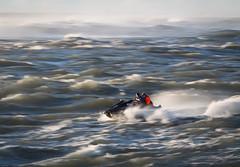 sea storm speed boat waves wave australia jetski swell goldcoast