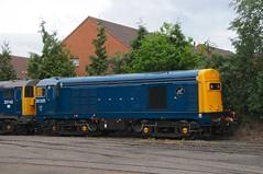 20 205 - Kidderminster (GreenHoover) Tags: svr severnvalleyrailway svrdiesel diesellocomotive diesel dieselloco dieselgala2016 kidderminster class20 20205 englishelectric