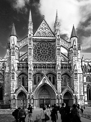 Westminster Abbey (ClickSnapShot) Tags: england london church monochrome abbey westminsterabbey architecture gothic landmark symmetry historical symmetrical ilobsterit gothicabbeychurch
