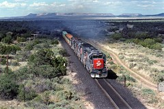 89-9-18 SP7457W 9-05 (jhwright105) Tags: newmexico sp corona westbound goldenstateroute