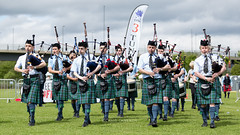 The Pipers hit Paisley (chriscameron) Tags: canon drums photography eos scotland kilt outdoor piper bagpipes pipeband 2016 chriscameron rspba 5dmkiii britishpipebandchampionships chriscameronphotography paisley2021