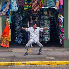 Seor (LuisBarquero) Tags: people costa man shop town costarica gente pueblo rica personas clothes tienda ropa hombre limon seor