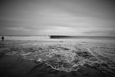 DSC_0366 (sorry if i dont) Tags: sea sky bw digital point nikon rocks surf waves australia ripples blacknwhite vignette jakes kalbarri d90