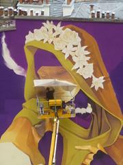 Inti : cration en cours (25 juin 2016) (Archi & Philou) Tags: workinprogress wip inti paris13 paintedwall nacelle murpeint travailencours itinerrance
