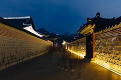 Seoul: Gyeongbokgung Palace (stuckinseoul) Tags: city beautiful night asian photo asia capital palace korea korean photograph seoul kr southkorea gyeongbokgung    seoulkorea republicofkorea canoneos6d flickrseoul sigma2470mmf28exdghsm iseoulu