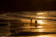 Atardecer. Playa de San Lorenzo. Gijn. (David A.L.) Tags: atardecer gijn asturias playa ocaso playadesanlorenzo