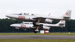 PZL-Mielec TS-11 Iskra   Polish Air Force (f1_mirage) Tags: 2005 force air polish 41 irena iskra dblin ts11 pzlmielec epde blsz