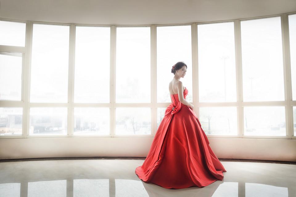 婚禮攝影-台南情定婚宴城堡永康館-34
