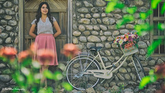 Bicycle girl (Aso Nihad) Tags: bicycle sony fe 90mm a6300