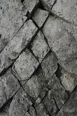 diamond-cracks (JeremyOK) Tags: rock stone cracks pattern halcyonhotsprings nakusp arrowlake