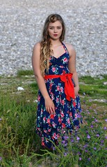 Lucy Paull at Lyme Regis (Clandrew) Tags: model clandrew beauty stunning summer lymeregis dorset photoshoot location dress