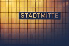 U-Bahn (Joits) Tags: stadtmitte