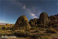 Moonlight Serenade (Mimi Ditchie) Tags: alabamahills easternsierra lonepine milkyway astrophotography night nightsky star getty gettyimages mimiditchie mimiditchiephotography
