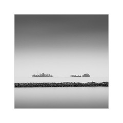 * The Other Side II * (^soulfly) Tags: longexposure seascape indonesia minimal simplicity batam bwfilter ef2470mm nd110 nongsapura canon5dmark2 distanceland