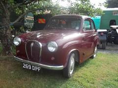 1957 Austin A35 (occama) Tags: old uk classic car austin cornwall maroon small 1957 british bmc a35 269dpf