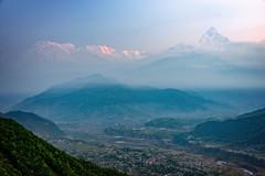 Sunrise view, Sarangkot, Pokhara, Nepal (CamelKW) Tags: nepal pokhara sarangkot 2016 sunriseview everestpanorama