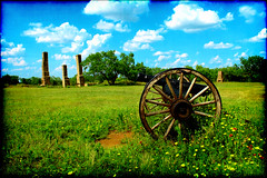 Texas Army (Retired) (Groovyal) Tags: usarmyretired usarmy retired army artillery guns canon war powder historic fortphantomhill fort texas art photography groovyal