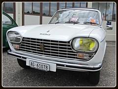 Peugeot 204 GL, 1974 (v8dub) Tags: peugeot 204 gl 1974 schweiz suisse switzerland french pkw voiture car wagen worldcars auto automobile automotive old oldtimer oldcar klassik classic collector