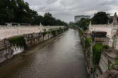 Rain, Rain, ... (maxst001) Tags: 2016ayearinpicures 2016yip flus frallewieneryipmembers onmywaytowork orte park stadtpark wasser wienfluss river vienna365 water