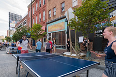 ping pong (Dave Fine) Tags: festival game artfestival artscape art pingpong outside md outdoors city unitedstates usa maryland baltimore bmore tabletennis