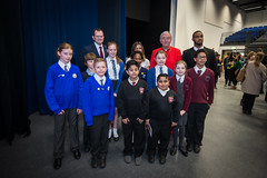 Official Opening of St Paul's Catholic School in Leicester (Catholic Church (England and Wales)) Tags: school st catholic cardinal leicester vincent pauls nichols