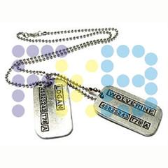 Logan-Lobezno (FrikiBeads) Tags: beads dc comic xmen logan collar marvel friki lobezno fkb frikibeads
