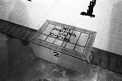 2 (electricnerve) Tags: blackandwhite pool nikon 28mm swimmingpool af600 nikonaf600