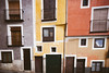 Pinpoints of time (Sator Arepo) Tags: city houses windows urban españa architecture facade canon spain doors 5d 24mm cuenca tse markii