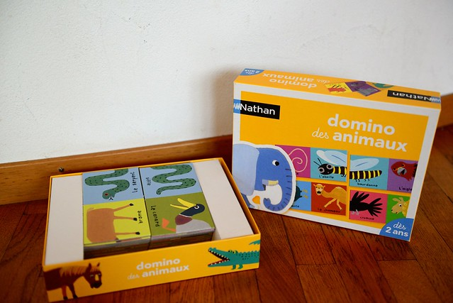 5chf animal domino game (10euro new)