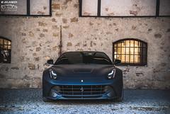 Ferrari F12 Berlinetta (EmmeDiPhotography) Tags: italy black photography automotive ferrari brescia matte f12 berlinetta 2015 carsandcoffee emmedi