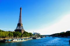 DERNIER Jour (olivocarla94) Tags: travel summer paris france tourism francaise views toureiffel batobus pontdelalma journe parisattractions dernierjouraparis