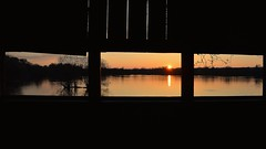 (Joseph.Monk.Photography) Tags: uk sunset sky panorama sun lake colour nature water landscape cycling nikon hide rickmansworth nikond3200 aquadrome stockers stockerslake d3200