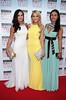 Sinead Noonan, Kerri Nicole Blanc and Gail Kaneswaren on the Red Carpet at The Peter Mark VIP Style Awards 2015 at The Marker Hotel,Dublin. Pictures Brian McEvoy