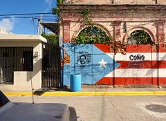 Arecibo, PR (Minno Ramirez) Tags: street urban streetart art architecture graffiti calle mural puertorico decay flag streetphotography structure arecibo urbano independence mundane boricua colony contemporarylandscape newtopographics oscarlopezrivera