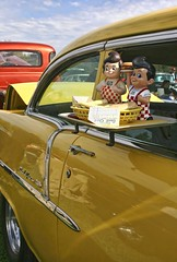 Big Boy Time! (~ Liberty Images) Tags: belair yellow chevy bigboy classiccarshow