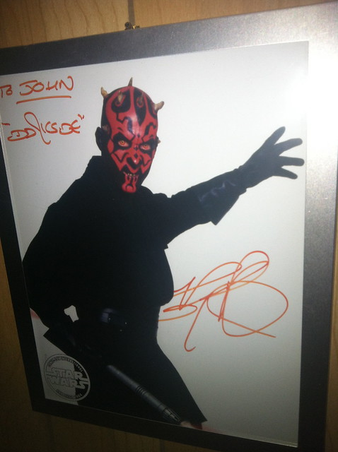 Star Wars Autograph #8 - Ray Park