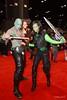 IMG_4402 - Drax the Destroyer, Rocket Raccoon, & Gamora