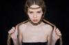 Aleksandra (YanaZvereva) Tags: portrait woman girl beautiful beauty youth hair hands ancient gloomy sad force skin braids shoulders melancholy hairstyle severe clavicles eyeslook